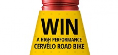 Like cycling? Win in a Cervelo road bike with Nederburg