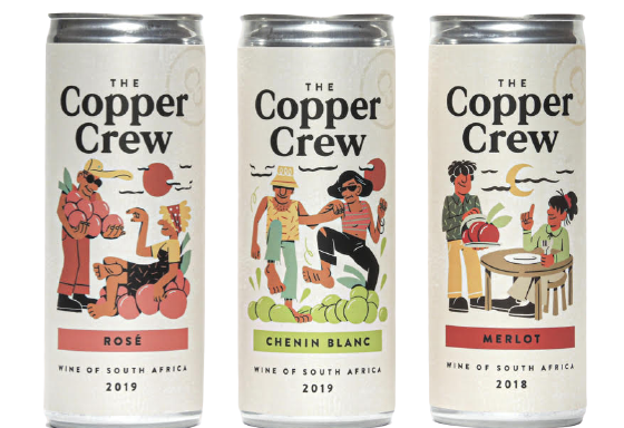 The Copper Crew can it!